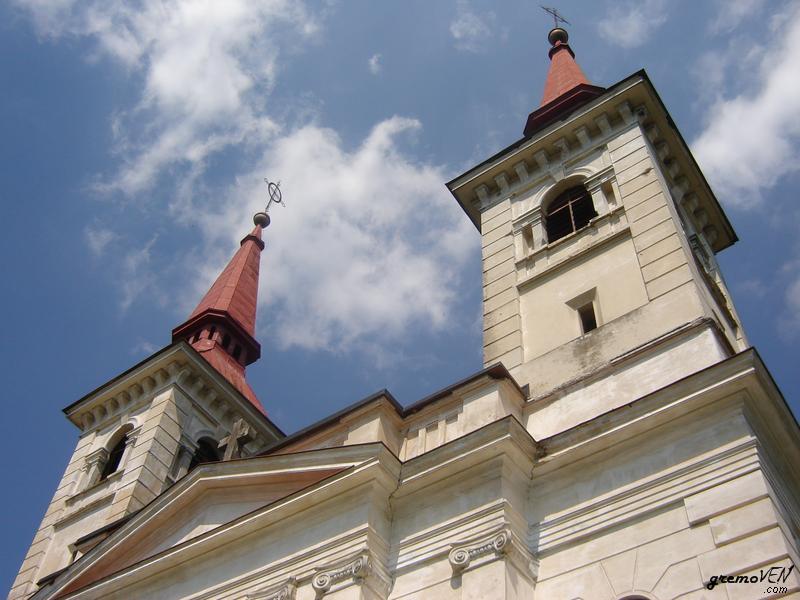 Romarska cerkev sv. Marije vnebozete na Zaplazu